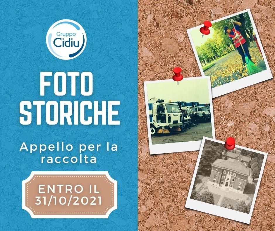 Immagine locandina appello raccolta foto storiche